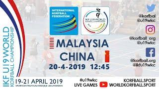 IKF U19 WKC 2019 MAS - CHN