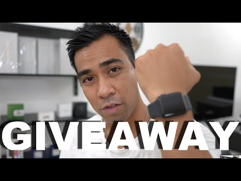 1st Giveaway Apple watch