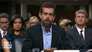 CEO Jack Dorsey Says Twitter 'does Not Use Political Ideology To Make Any Decisions'