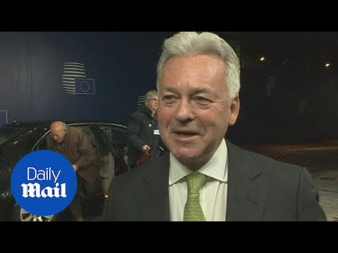 Sir Alan Duncan says UK can 'smile' about Brexit progress - Daily Mail