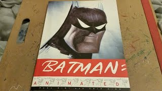 Batman: Animated Art Book Soft Spoken Flip Through Lo-Fi ASMR