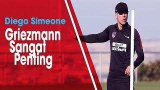 Diisukan Akan Bergabung dengan Barcelona, Simeone: Griezmann Sangat Penting saat Ini