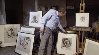 A Look At Lucian Freud's Etchings With David Dawson