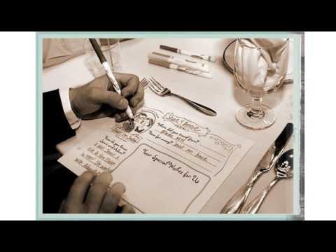 Creativo de la boda las ideas del libro de visitas