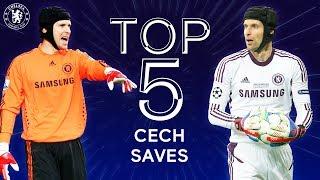 Top 5 Legendary Petr Cech Saves | Chelsea Tops