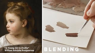 BLENDING (My approach to it and tips) || Oil Painting