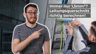 Immer nur 1,5 mm²? Kabelquerschnitte und maximale Leitungslängen in Gebäuden ermitteln   TechnikTalk