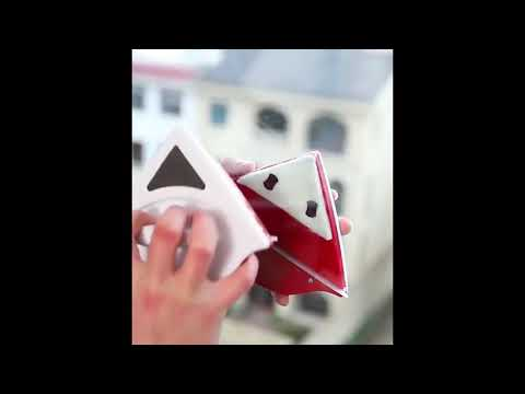 youtube Магнитная щетка для окон WinClean