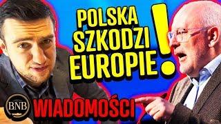 Timmermans znowu ATAKUJE Polskę! Jesteśmy TRUCIZNĄ EUROPY | WIADOMOŚCI