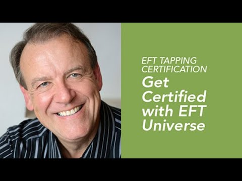 EFT Tapping Certification   Get Certified with EFT Universe - YouTube