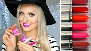 Lip Swatch Video! ♡ Maybelline Color Elixir ♡ Full Collection & Review!