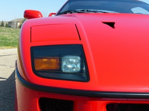 The Iconic Ferrari F40: Enzo's last Ferrari Driven & Revealed