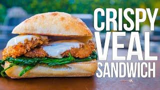 Crispy Veal Scallopini Sandwich | SAM THE COOKING GUY 4K
