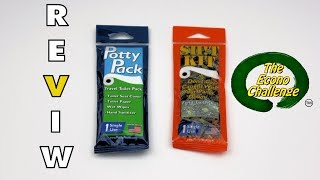 Potty Pack and Sh!t Kit Review - Poop in the Woods