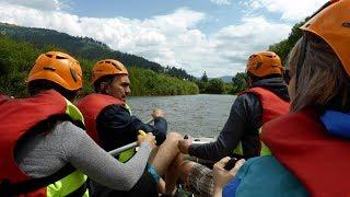 Rafting pe Râul Bistrița - Rafting on the Bistrita River (Vatra Dornei, Suceava County, Romania)