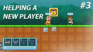 Pixel Worlds | HELPING A NEW PLAYER! | Help Noobs #4