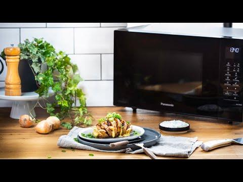 Panasonic Mikrowellen-Rezept: Fächerkartoffeln mit Pilzen