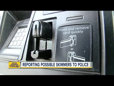 Credit card skimmers on the rise, but most people don't report to police
