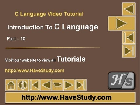 Introduction to C Language | Part 10