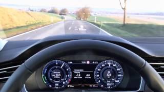 2017 VW Passat GTE Variant Plug-in Hybrid - Start-up & Test drive (POV)