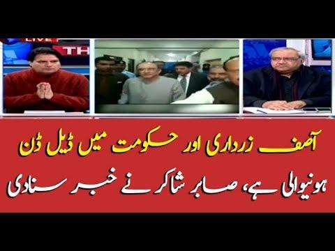 The deal is almost finalized between Zardari, govt: Sabir Shakir