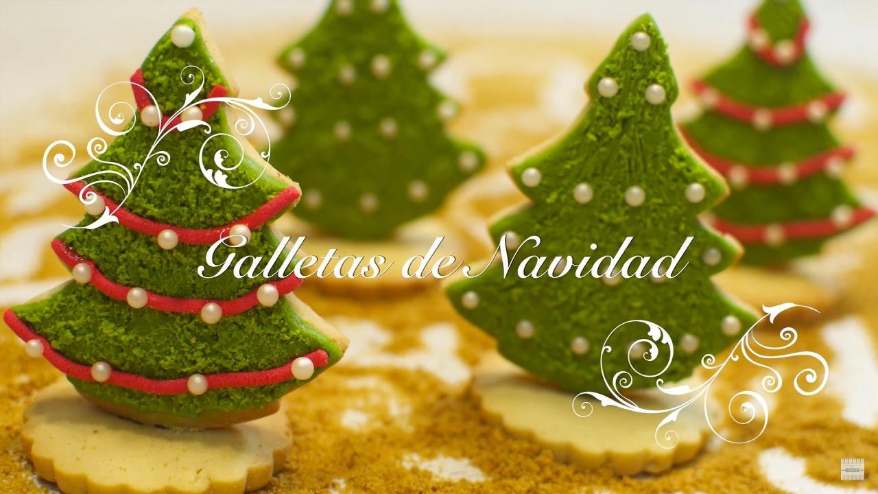 Galletas de Navidad Decoradas | Galletas de Mantequilla | Galletas para hacer con Niños