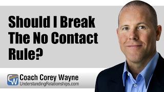 Should I Break The No Contact Rule?