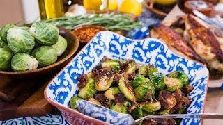Home & Family – KISS' Paul Stanley Cooks Brussels Sprouts & Chicken Marinade