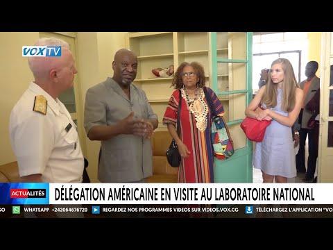 Délégation américaine en visite au laboratoire national Délégation américaine en visite au laboratoire national