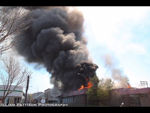 Brandon, MB - Major Fire Emergency - 4 Commercial/Residential Structure Fires