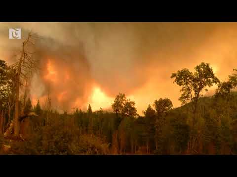 California wildfires creep toward Yosemite