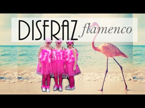 Disfraz de flamenco animal | DIY