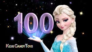 Learn To Count  Numbers | 1 To 100 With Elsa | Aprende del 1 al 100 en inglés