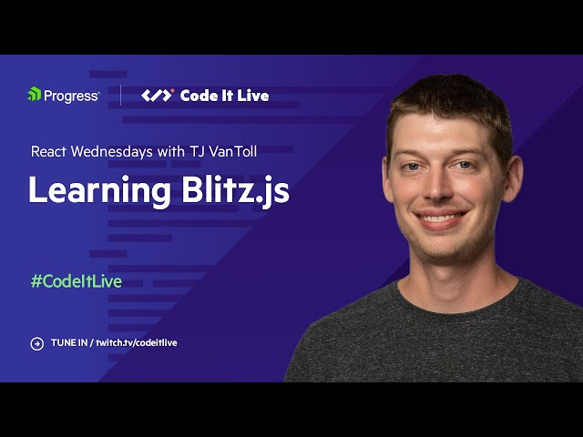 Let's Learn Blitz.js with Brandon Bayer