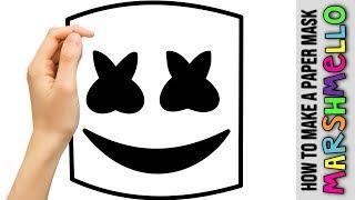 How To Make Marshmello Helmet Tutorial ฟร ว ด โอออนไลน ด ท ว