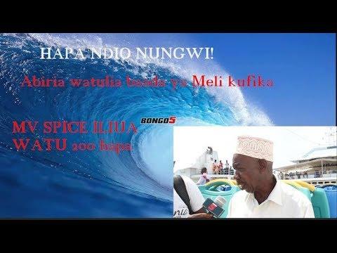 Mawimbi ya Nungwi hatari: Hapa nilipoteza watoto 11 / Meli ndogo hazipiti