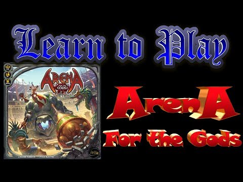 Learn to Play: Arena for the Gods