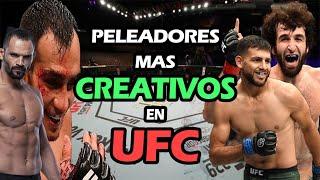 7 Peleadores mas CREATIVOS en el UFC (MMA)