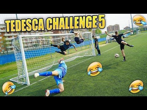 TEDESCA CHALLENGE con i Fratelli DONNARUMMA - Finale ASSURDO!!