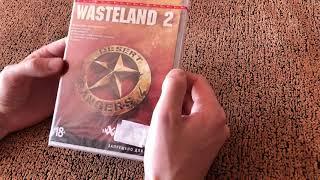 WASTELAND 2. Издание Desert Rangers. Распаковка.