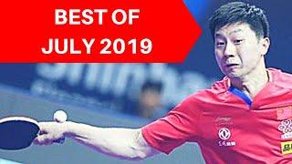 Best table tennis points July 2019 / Meilleurs points de tennis de table Juillet 2019