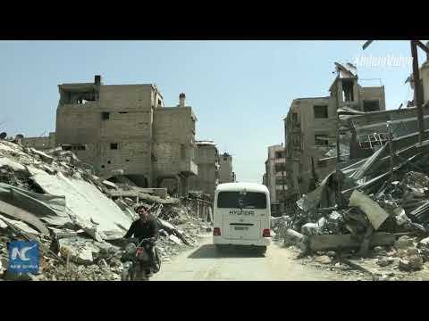 Syria's Douma district resurrected from war