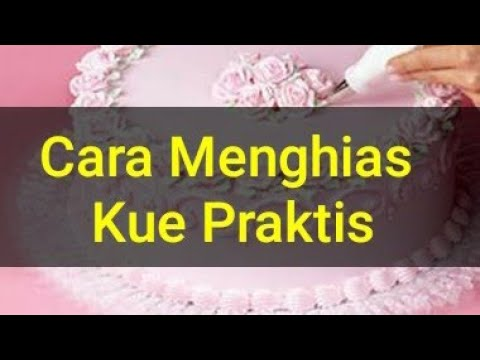 Video Cara membuat cake motif zebra