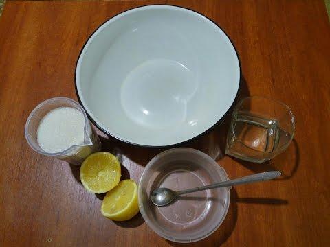 Натуральная паста для шугаринга дома