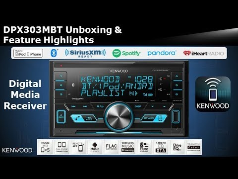 Estereo KENWOOD DPX520BT - смотреть онлайн на Hah Life
