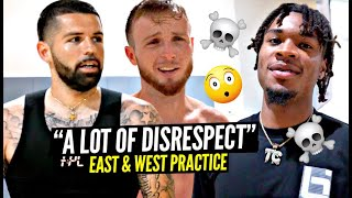 """Things Got INTERESTING at East & West Coast Practice! """"I'm Clamping Up EVERYBODY On That Team"""""""