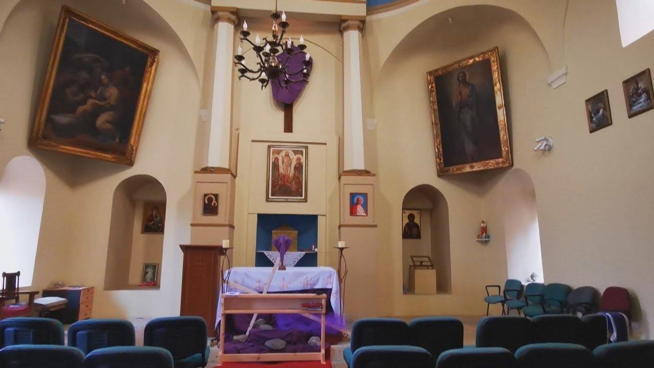 Κυριακή των Βαϊων με άδεια την καθολική Εκκλησία λόγω κορονοϊου στο Ναύπλιο