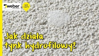 Jak działa tynk hydrofilowy i jak radzi sobie z wilgocią na powierzchni elewacji
