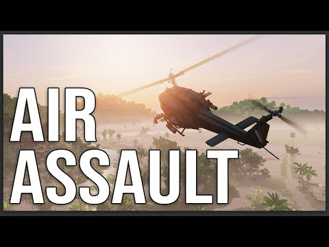 BEACH AIR ASSAULT in Vietnam - Rising Storm 2