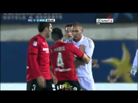 Karim Benzema Defending Mesut Ozil In Fight Vs Mallorca